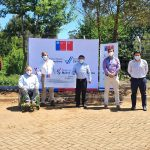 Ministerio del Deporte entrega recursos para la construcción de Polideportivo en Collipulli