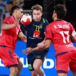 Chile Balonmano no pudo, perdió duramente ante Suecia en mundial de Egipto