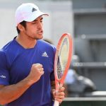 Cristian Garin hace historia por primera vez llega a octavos de final de Roland Garros