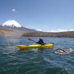 Bárbara Hernández hace historia al cruzar el Lago Chungará el más alto del mundo