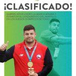Gabriel Kehr obtiene récord nacional en el martillo y de paso clasifica a los J.J.O.O. de Tokio